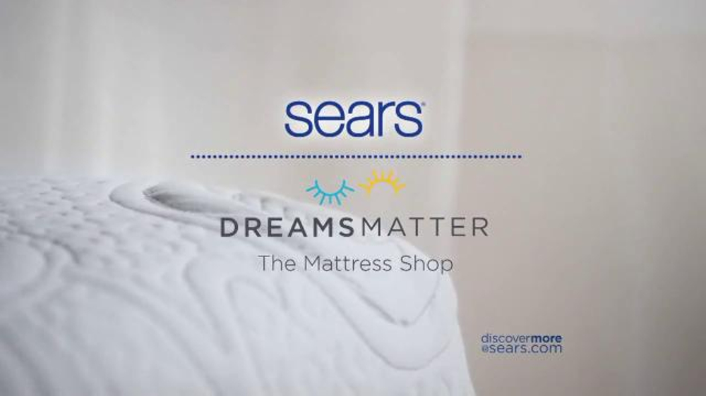 sears labor day mattress sale tv commercial 39 top brand savings 39. Black Bedroom Furniture Sets. Home Design Ideas