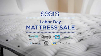 Sears Labor Day Mattress Sale TV Spot, 'Top Brand Savings'