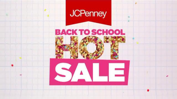 JCPenney: Back to School Hot Sale: Cool Savings