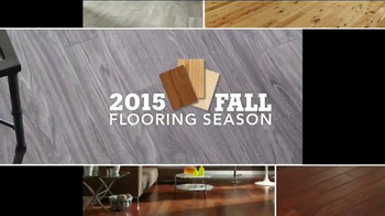 Lumber Liquidators Fall Flooring Kick-Off Sale TV Spot, '2015 Fall Season'