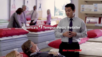 Mattress Firm TV Spot, 'Why People LOVE Tempur-Pedic & Mattress Firm'