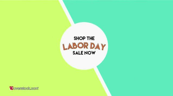 Overstock.com Labor Day Sale TV Spot, 'Refresh Your Style' thumbnail