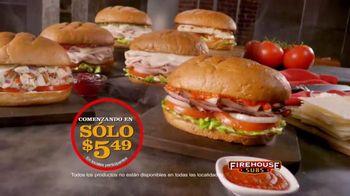 Firehouse Subs Under 500 Calories Menu TV Spot, 'Menos calorías' [Spanish]
