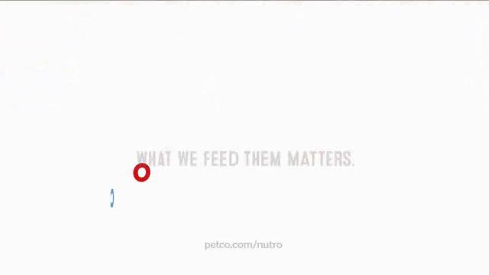 Petco Nutro Dog Food Commercial