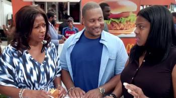 McDonald's Buttermilk Crispy Chicken Sandwich TV Spot, 'Food Festival' thumbnail