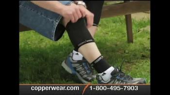 CopperWear Sleeve TV Spot, 'Play Hard Work Hard'
