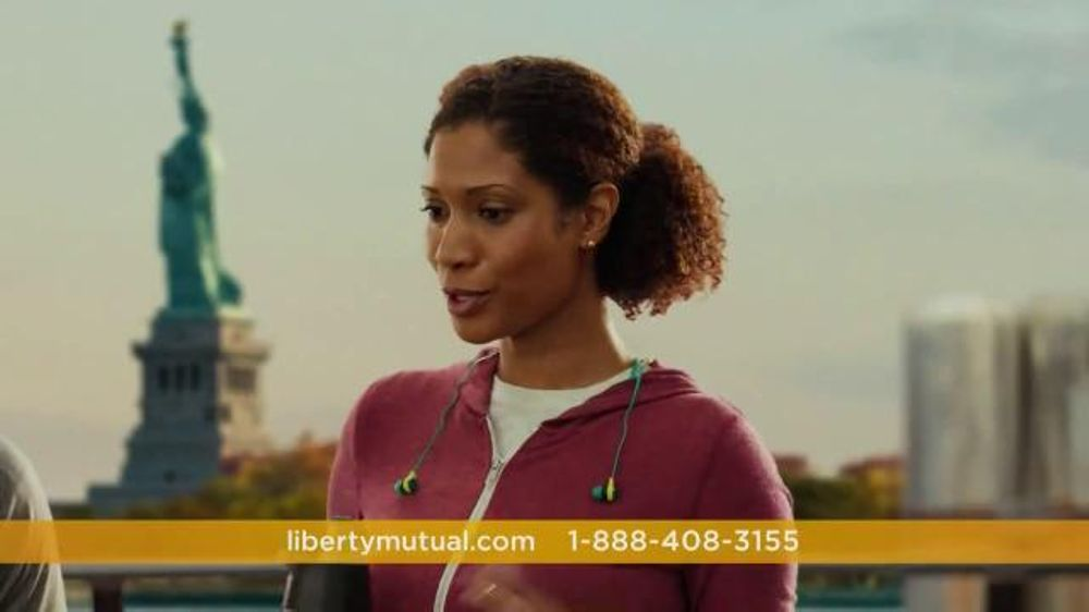 Liberty mutual woman with tits