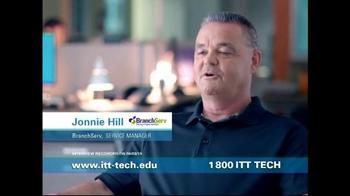 ITT Technical Institute TV Spot, 'Jonnie Hill'