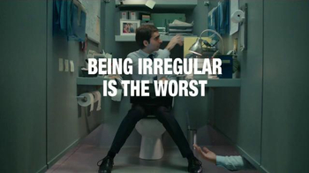 Fiber One Chewy Bars TV Spot, 'Irregular Cubicle'
