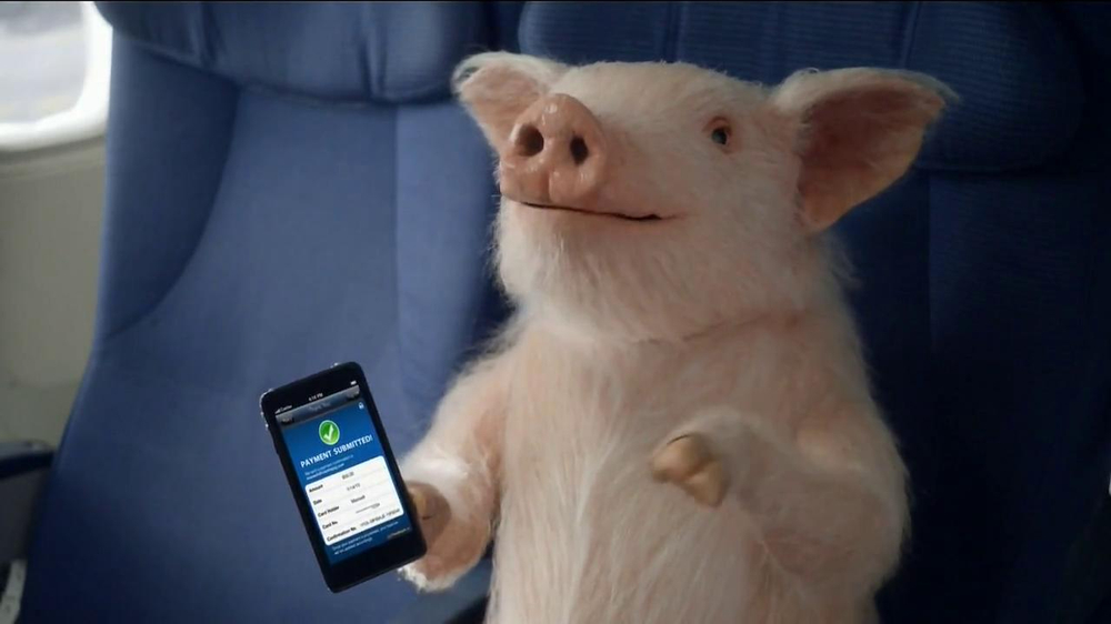 GEICO Mobile App TV Spot, 'When Pigs Fly' - Screenshot 2