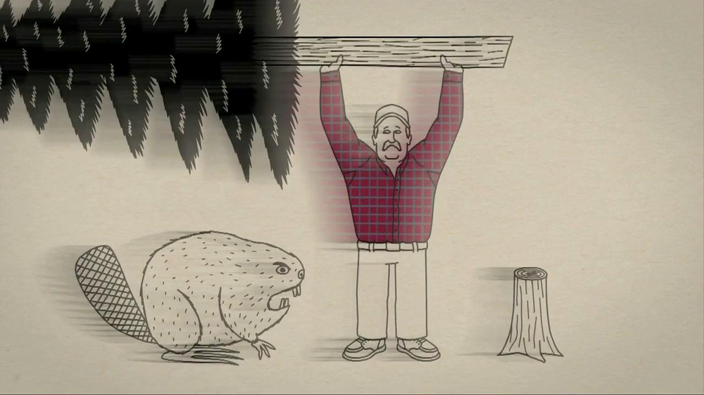 Duluth trading company commercials beaver