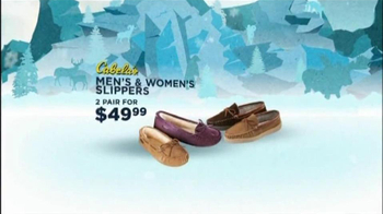 Cabela's Christmas Sale TV Spot, 'Slippers'  - Thumbnail 4
