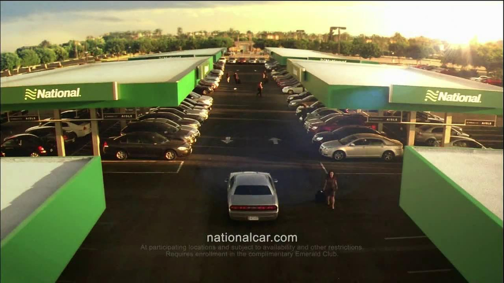 National Car Rental TV Spot, 'Airport' Featuring Patrick Stewart - Screenshot 10