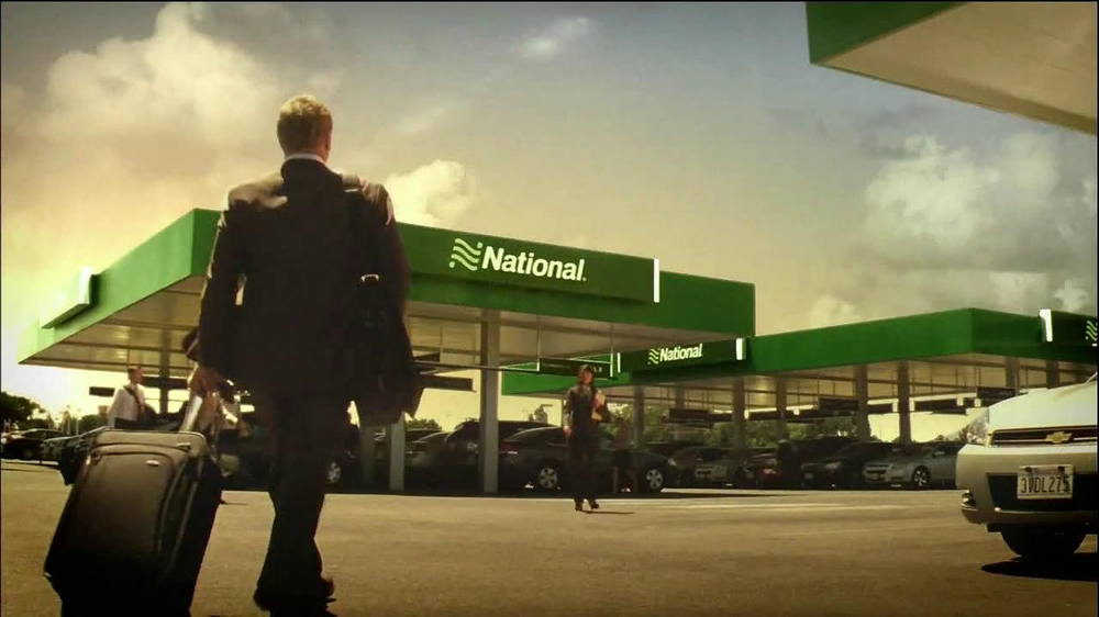 National Car Rental TV Spot, 'Airport' Featuring Patrick Stewart - Screenshot 6