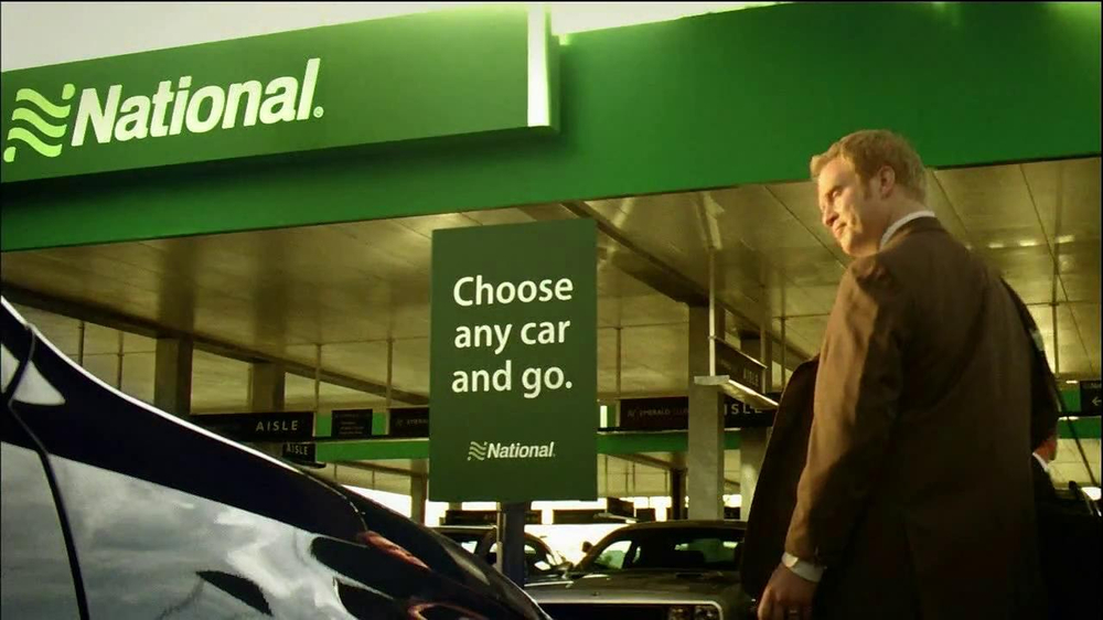 National Car Rental TV Spot, 'Airport' Featuring Patrick Stewart - Screenshot 7