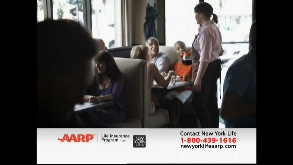 AARP Life Insurance Program TV Spot, 'Diner' - Screenshot 6