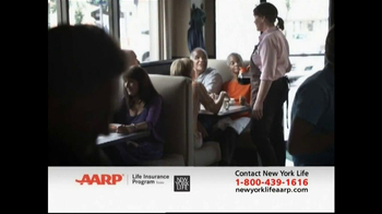 AARP Life Insurance Program TV Spot, 'Diner' - Thumbnail 6