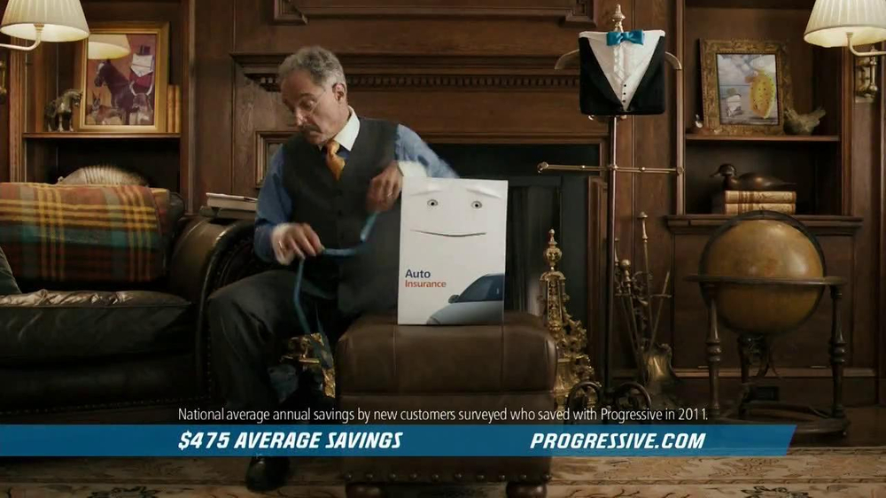 Progressive TV Spot 'The Box' - Screenshot 1