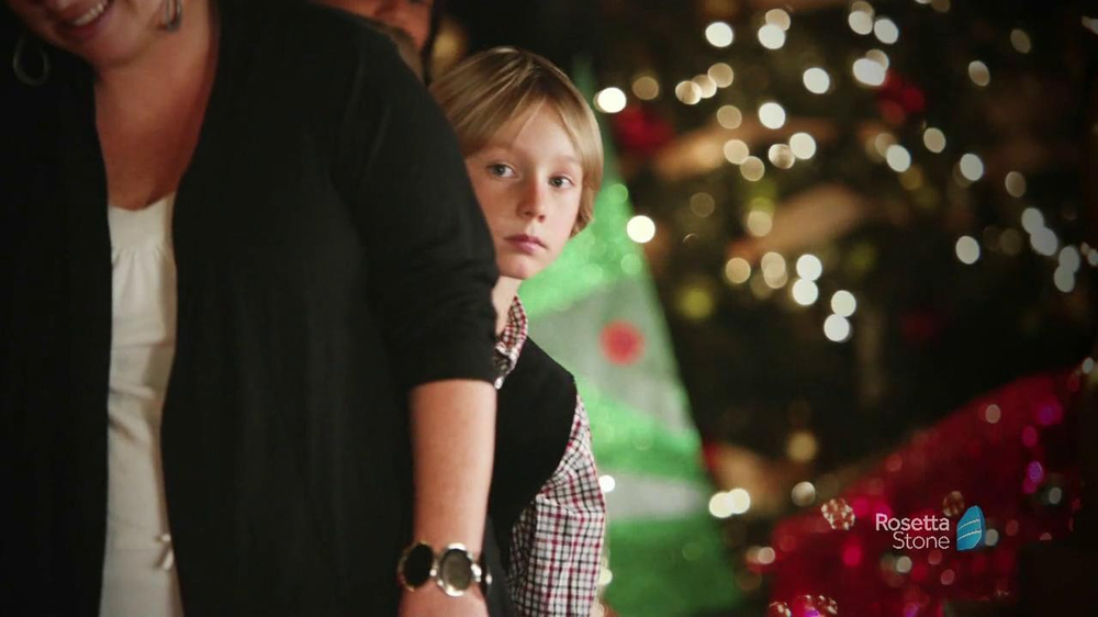 Rosetta Stone TV Spot, 'Deutsch Santa' - Screenshot 2