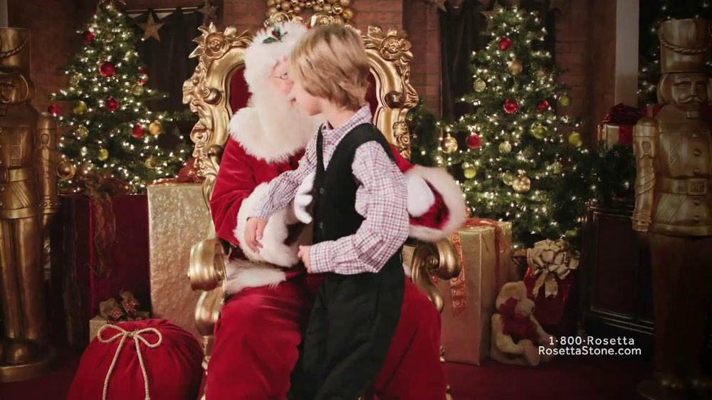 Rosetta Stone TV Spot, 'Deutsch Santa' - Screenshot 3