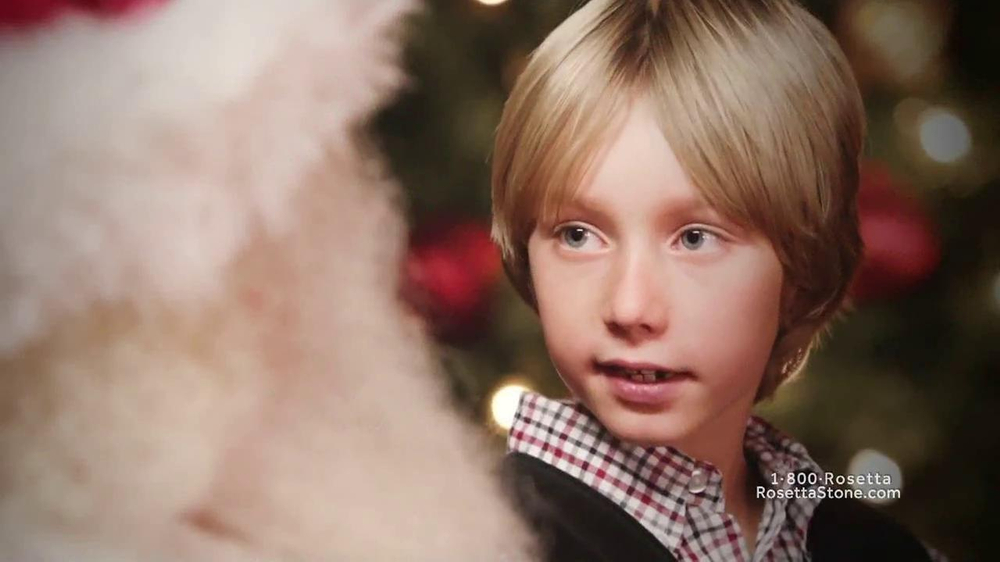 Rosetta Stone TV Spot, 'Deutsch Santa' - Screenshot 4