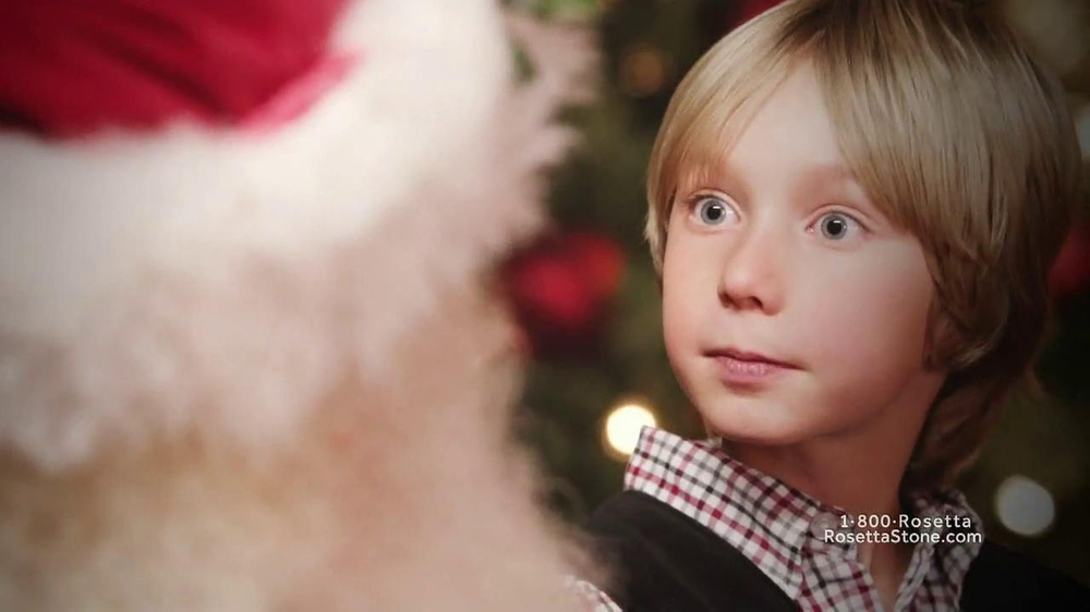 Rosetta Stone TV Spot, 'Deutsch Santa' - Screenshot 6