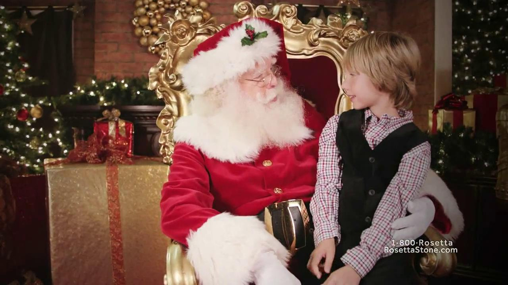 Rosetta Stone TV Spot, 'Deutsch Santa' - Screenshot 7