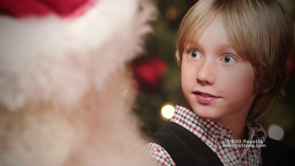 Rosetta Stone TV Spot, 'Deutsch Santa' - Screenshot 8