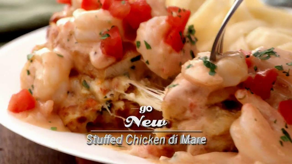 Olive Garden Parmesan Crusted Stuffed Chicken Tv Spot