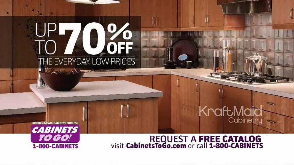 Cabinets to go tv commercial 39 inventory time 39 for Cabinets to go