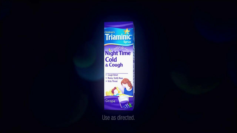 Triaminic Night Time Cold & Cough TV Spot, 'Can't Sleep' - Screenshot 6
