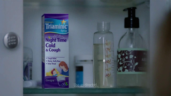 Triaminic Night Time Cold & Cough TV Spot, 'Can't Sleep' - Thumbnail 4