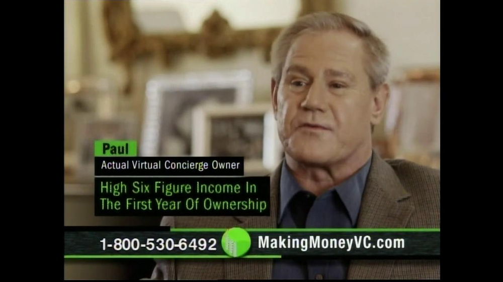 Virtual Concierge TV Spot, 'Make More Money' - Screenshot 7