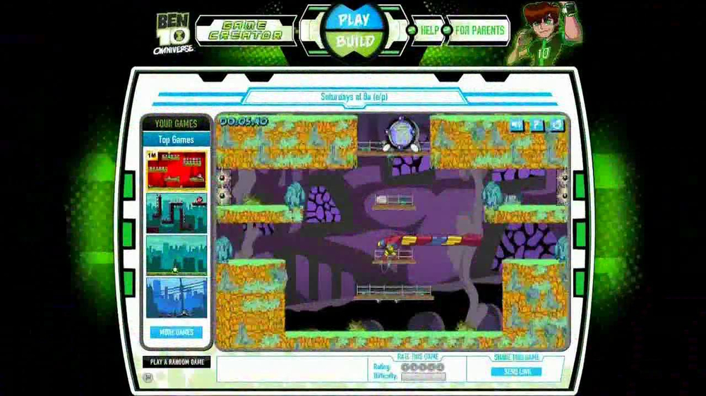 Cartoon Network Web Check TV Spot, 'Ben 10 Game Creator' - Screenshot 10