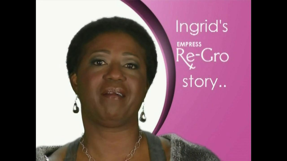 Empress Re-Gro TV Spot, 'Ingrid's Story' - Screenshot 3