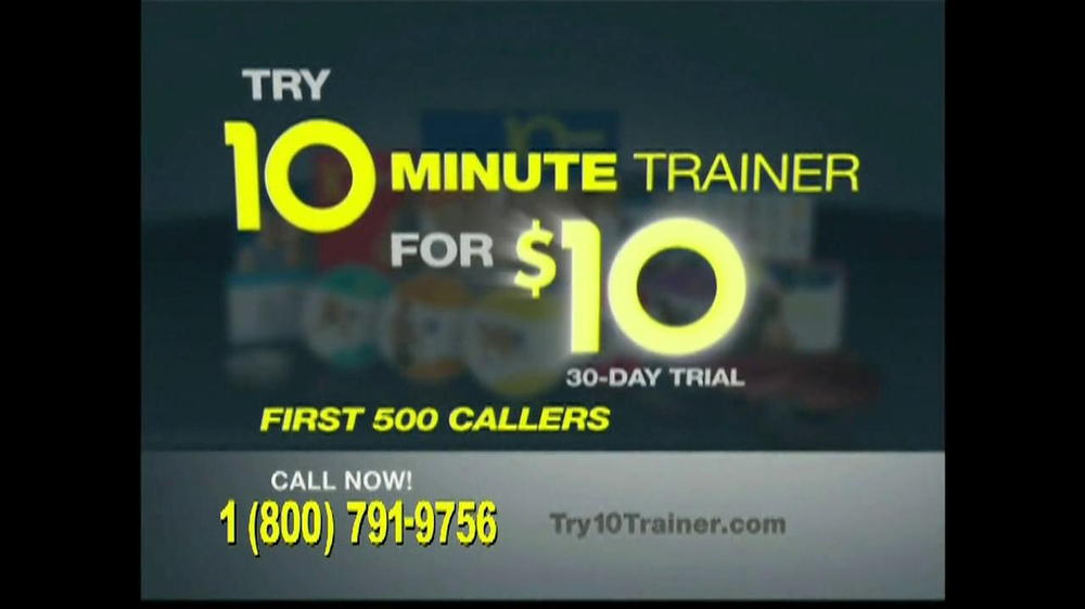 10 Minute Trainer TV Spot, 'In Shape for $10' - Screenshot 9