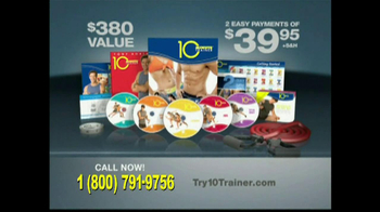 10 Minute Trainer TV Spot, 'In Shape for $10' - Thumbnail 8