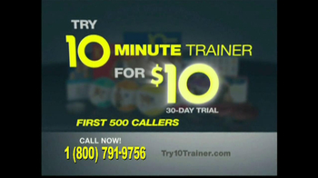 10 Minute Trainer TV Spot, 'In Shape for $10' - Thumbnail 9
