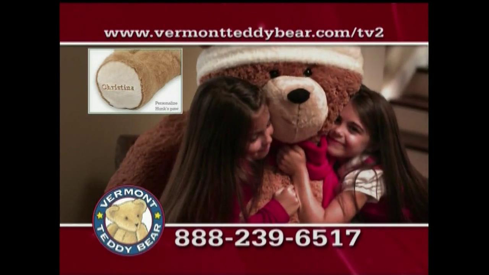 Vermont Teddy Bear TV Spot, 'Holiday' - Screenshot 10
