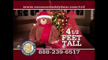 Vermont Teddy Bear TV Spot, 'Holiday' - Thumbnail 4