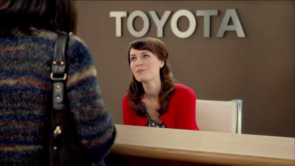 Actress In Toyotathon Commercial 2013 Autos Post