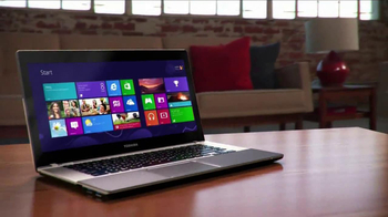 Toshiba Satellite Ultrabook Laptop TV Spot, 'Widescreen'