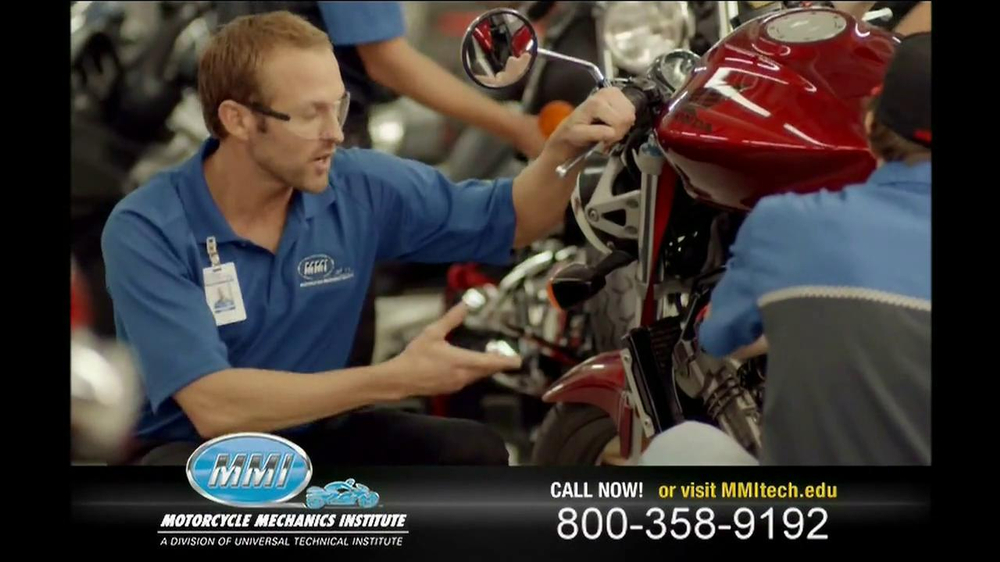 motorcycle mechanics institute tv commercial 39 in your