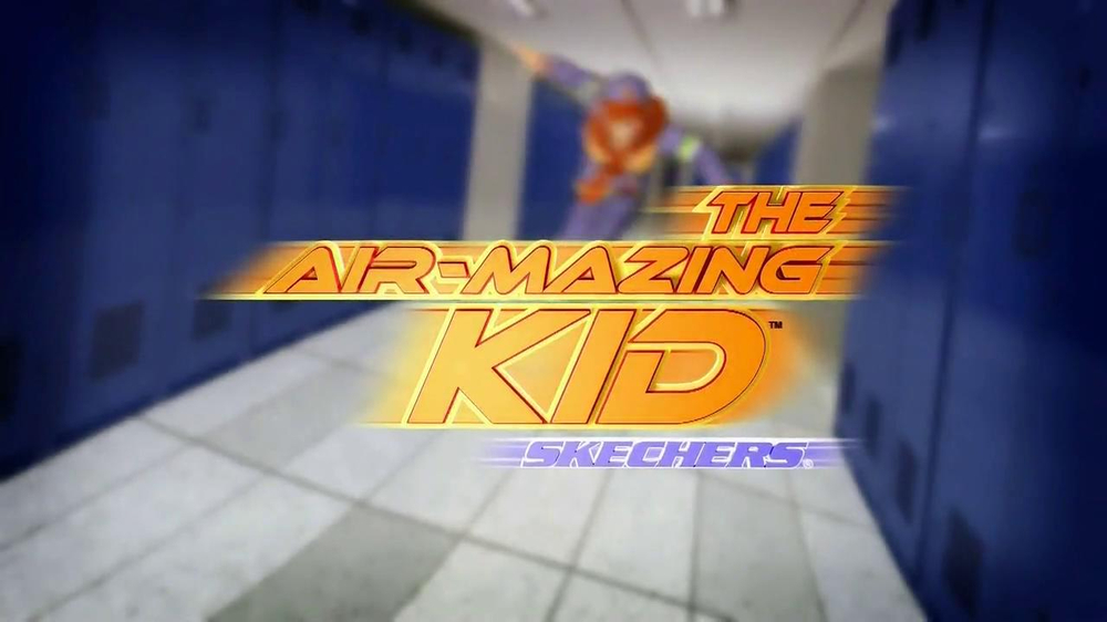 Skechers Air-Mazing Kid TV Spot - Screenshot 1