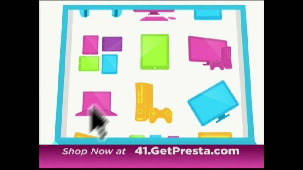 Presta TV Spot, 'Today's Hottest Electronics' - Screenshot 3