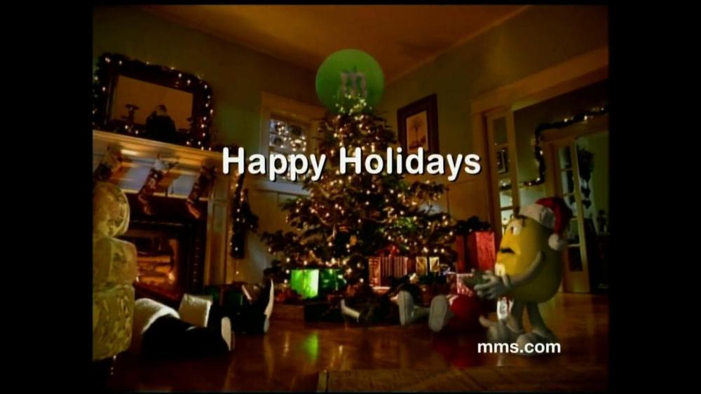 M&M's TV Spot, 'Fainting Santa' - 7239 commercial airings