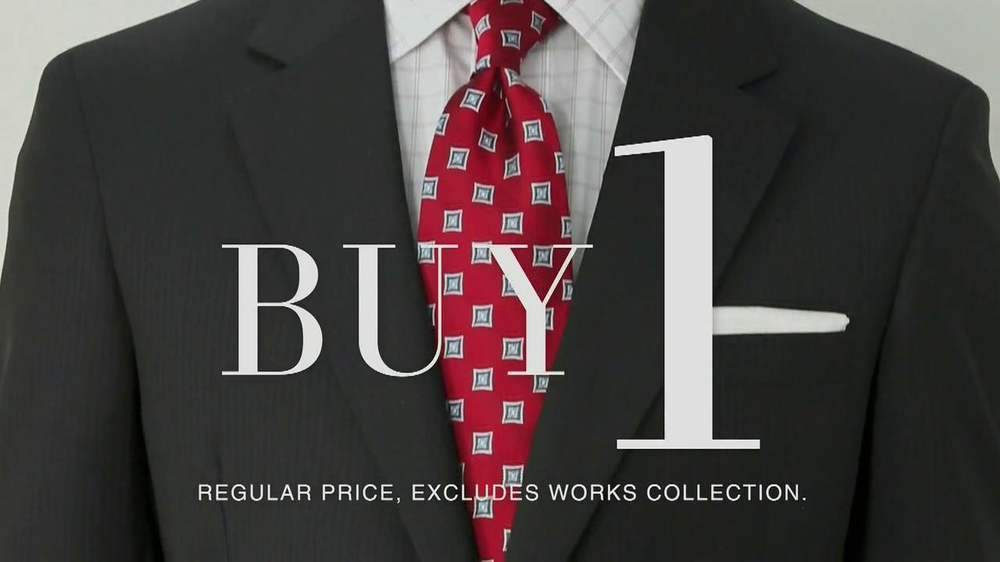 JoS. A. Bank TV Spot, 'Buy One, Get 7 Free: Suit' - Screenshot 1