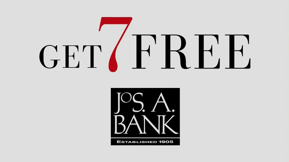 JoS. A. Bank TV Spot, 'Buy One, Get 7 Free: Suit' - Screenshot 2