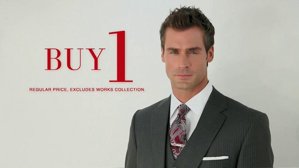 JoS. A. Bank TV Spot, 'Buy One, Get 7 Free: Suit' - Screenshot 3