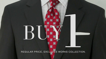 JoS. A. Bank TV Spot, 'Buy One, Get 7 Free: Suit' - Thumbnail 1